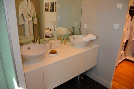salle de bain suite parentale maison esprit loft