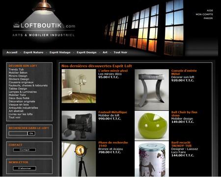 loftboutik - boutique deco esprit loft