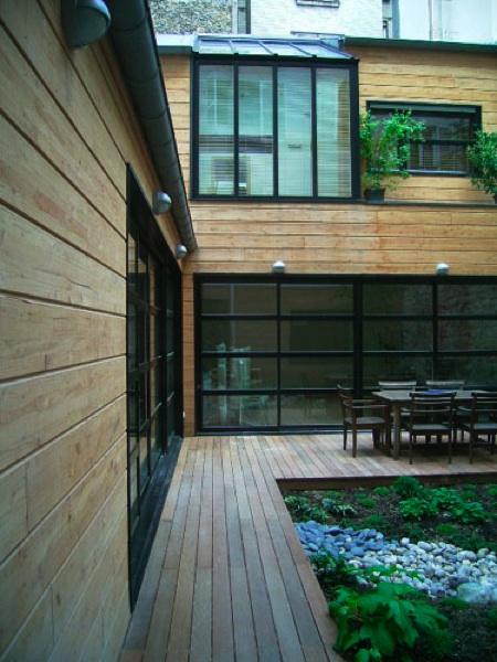 maison loft en bois - architecte Patrick Joubard