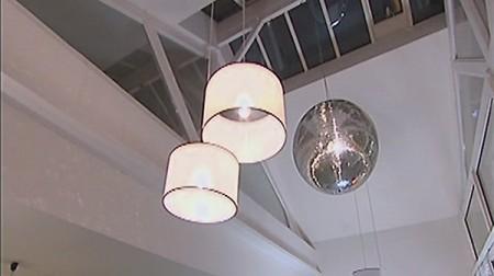 boule à  facettes ambiance disco