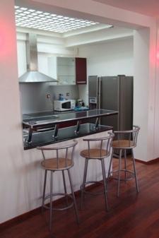 cuisine loft à louer à Paris