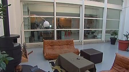 le loft brut avant relooking par l'émission d&co