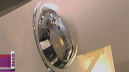 Un loft relook dans d co journal du loft for Miroir bombe rond