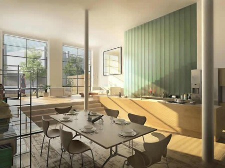 projet de loft à Lille