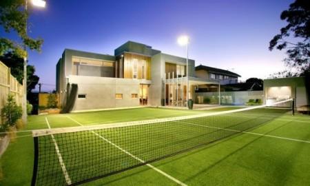 maison loft de luxe à Melbourne avec terrain de tennis