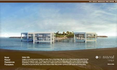 water villa à Nurai avec une surface de 5500 squared feet