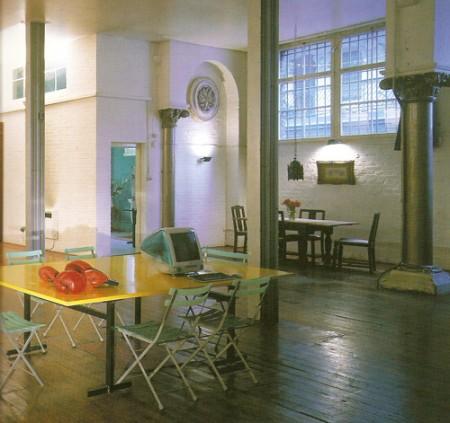 photo d\'un loft à Londres extraite du livre mini loft bible