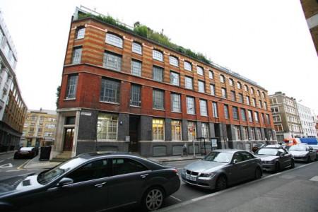 The factory loft Londres vue de l\'extérieur