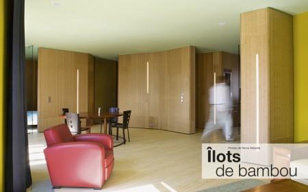 Loft ilots de bambou - architecture à vivre