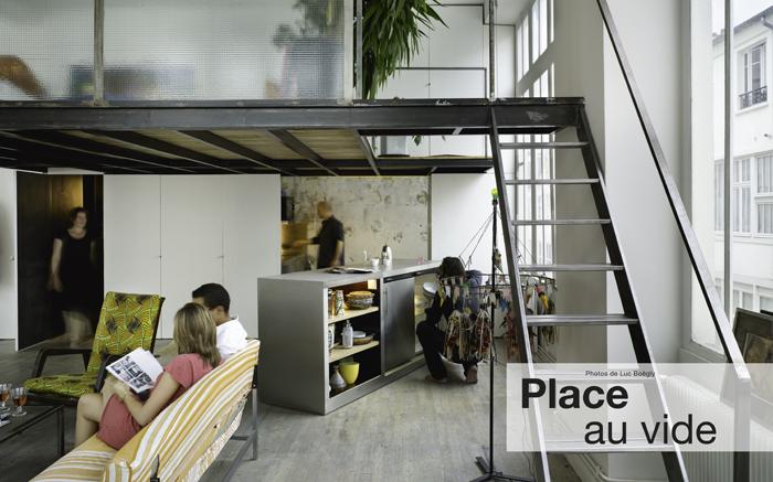 Loft avec mezzanine architectures vivre journal du loft - Architectures a vivre ...