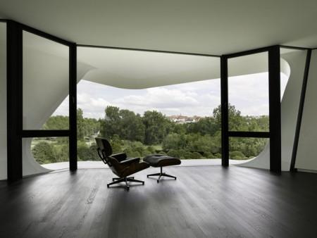 Dupli casa avec fauteuil Charles Eames
