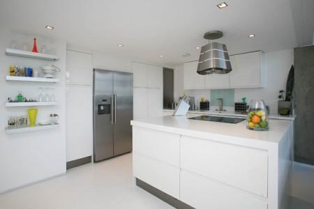 cuisine design loft à Londres Union Wharf