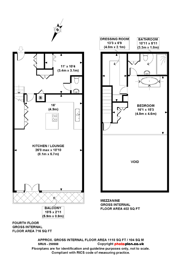 Plan d un loft design londres journal du loft for Plan de loft moderne