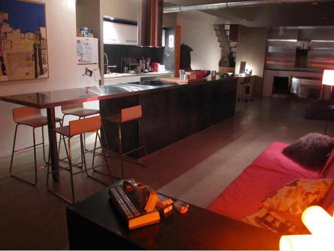Cuisine lin aire loft journal du loft for Cuisine en lineaire