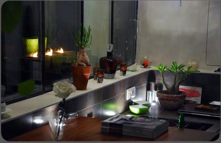 Cuisine du loft design Actlieu à Nantes