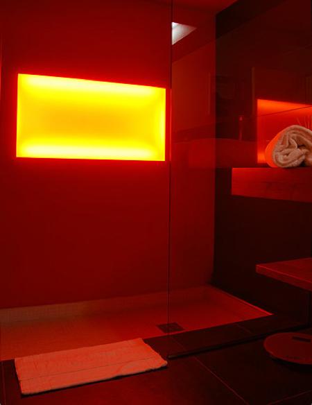 Actlieu hotel loft louer nantes journal du loft for Eclairage douche italienne