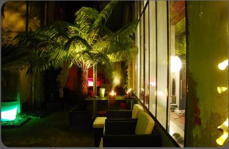 Terrasse végétalisée hotel loft Actlieu