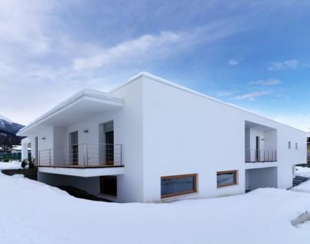 Maison horizontal space par l\'architecte italien Duilio Damilano