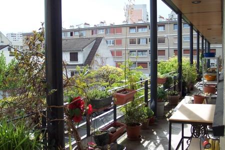 Terrasse loft Montreuil 93