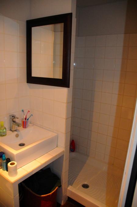 Salle de douche 1er étage avant travaux