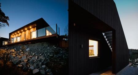 Maison en bois moderne nexthouse vue sur m6 capital - Maison design moderne capital building ...