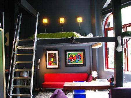 Mezzanine loft