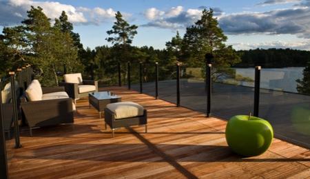 Toit terrasse de la maison bois Nexthouse