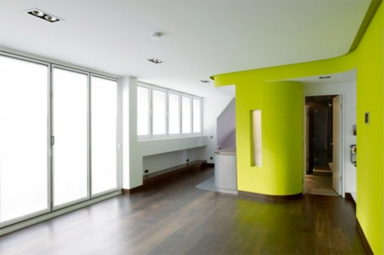 Id e couleur pour cuisine - Cuisine mur vert pomme ...