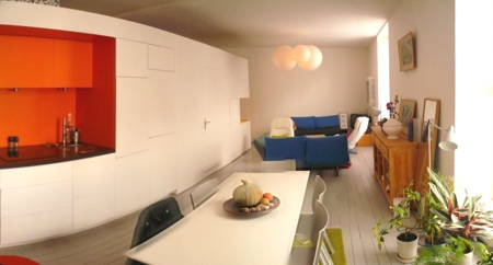 Petit loft rue des Olivettes