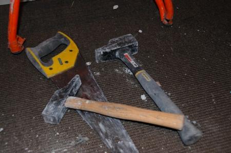 Outils du chantier