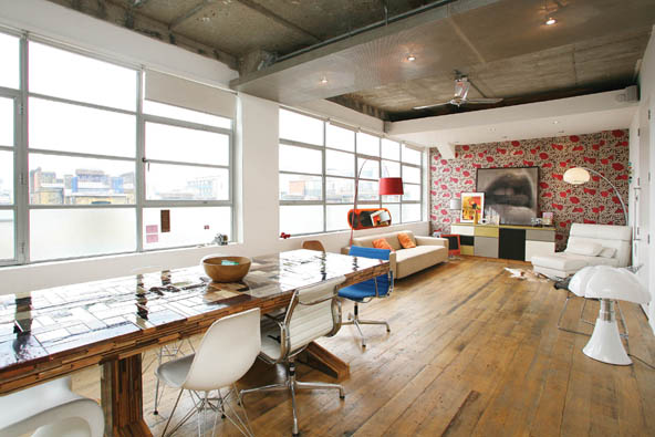 salle manger loft open space journal du loft