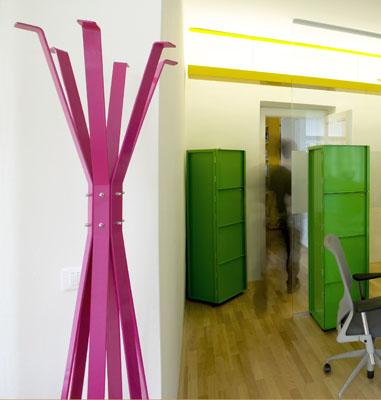 Bureau coloré Avanta Lowe