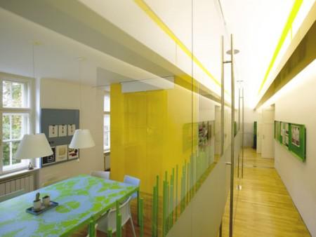 Couloir bureaux Avanta Lowe