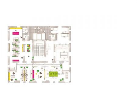 Plan des bureaux Avanta Lowe