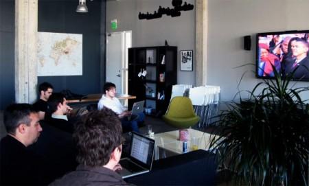 Salle de réunion Twitter