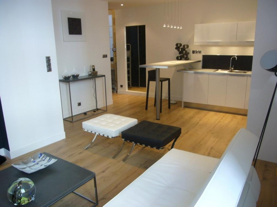T2 design nantes r nov par un architecte d int rieur for Design d interieur nantes