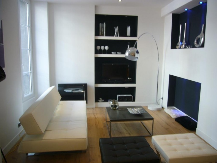 D co appartement t2 moderne for Petit salon contemporain