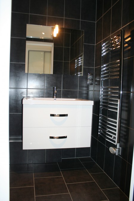 Meuble de salle de bain design blanc