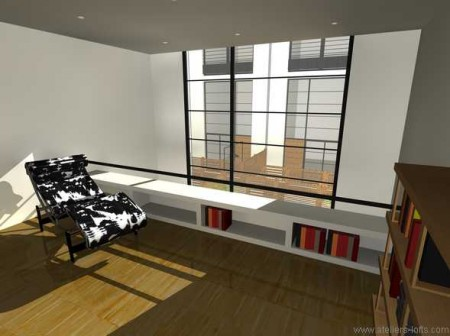 projet de loft gentilly journal du loft. Black Bedroom Furniture Sets. Home Design Ideas