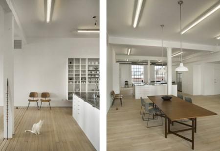 Loft Hoeber en open space blanc