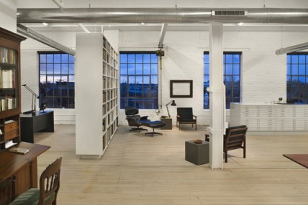 Loft Hoeber residence par QB3 architectes