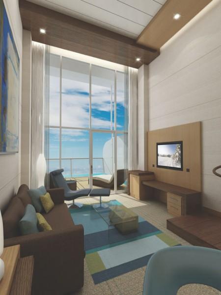 Loft de luxe sur le paquebot Oasis of the Seas
