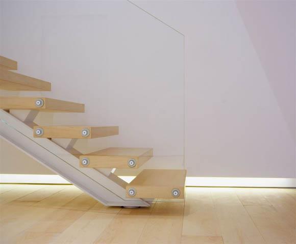 Como loft escalier en bois et m tal design journal du loft - Escalier design bois metal ...