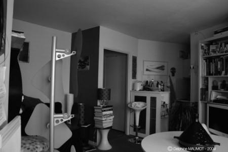Petit studio à Paris avant travaux