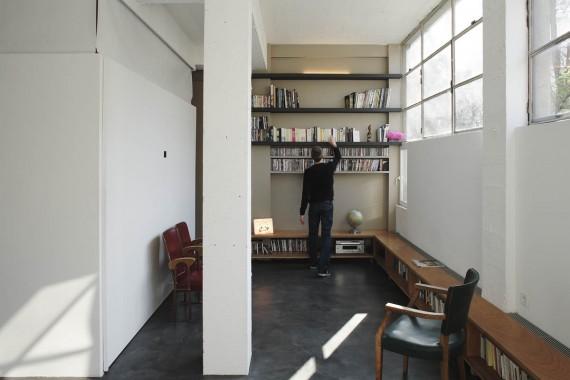 Loft two boxes : bibliothèque