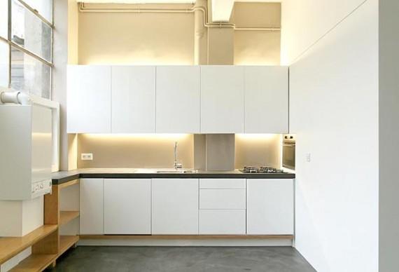 Two boxes loft : cuisine allumée