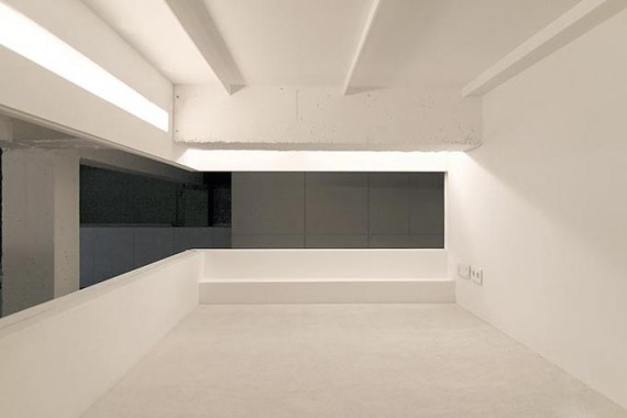Two boxes loft : mezzanine