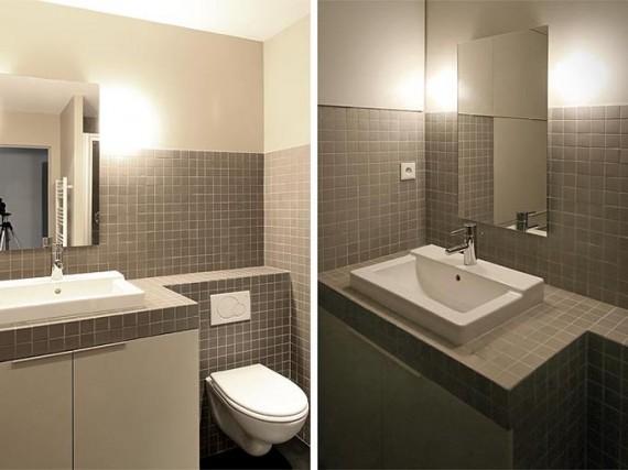 Two boxes loft : la salle de bain