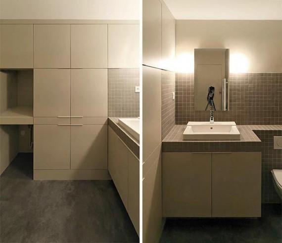 Two boxes loft : salle de bain