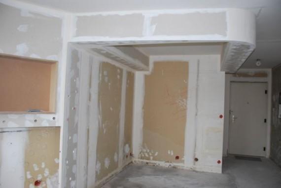 Coffre du lit encastré au plafond